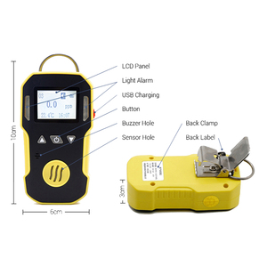 Image 3 - אוזון גלאי אוזון גז Tester O3 אוזון ריכוז שיורי דליפת גלאי Analyzer צג עם קול אור רטט אזעקה