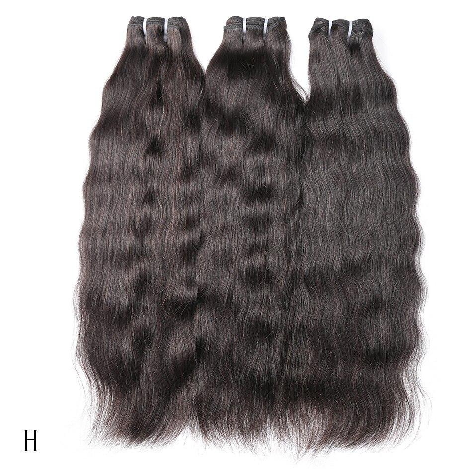 В стиле «Poker Face 28 30 32 дюйма бразильские натуральные необработанные волосы ткет натуральные прямые человеческие волосы пряди волос Необрабо...