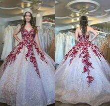 Роскошные платья на шнуровке 2020 милое Тюлевое платье до пола