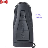 KEYECU for MG6 Replacement Smart Remote Car Control Key Fob 434MHz ID46 Chip 3 Button