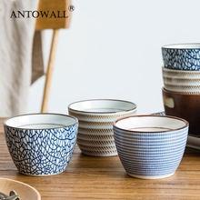 Antowall 4 шт японский hengfeng стиль керамическая чашка для