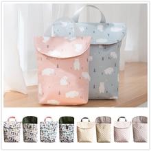 Backpack Diaper-Bags Mummy-Bag Baby Waterproof Wet-Cloth Big-Capacity Reusable
