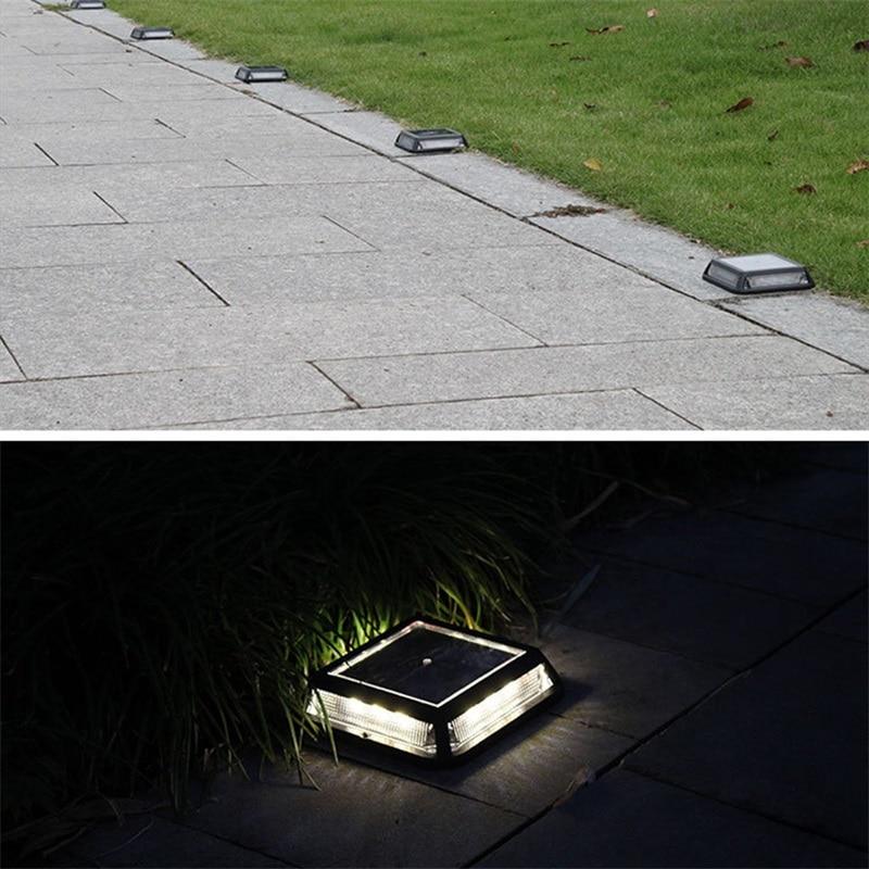 Oufula solar luzes subterrâneas ao ar livre