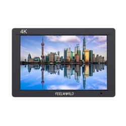 FEELWORLD FW703 7 Inch 4K On-Camera Video Monitor IPS Full HD Camera Field Monitor 1920 x 1200 3G-SDI HDMI Output Input for DSLR
