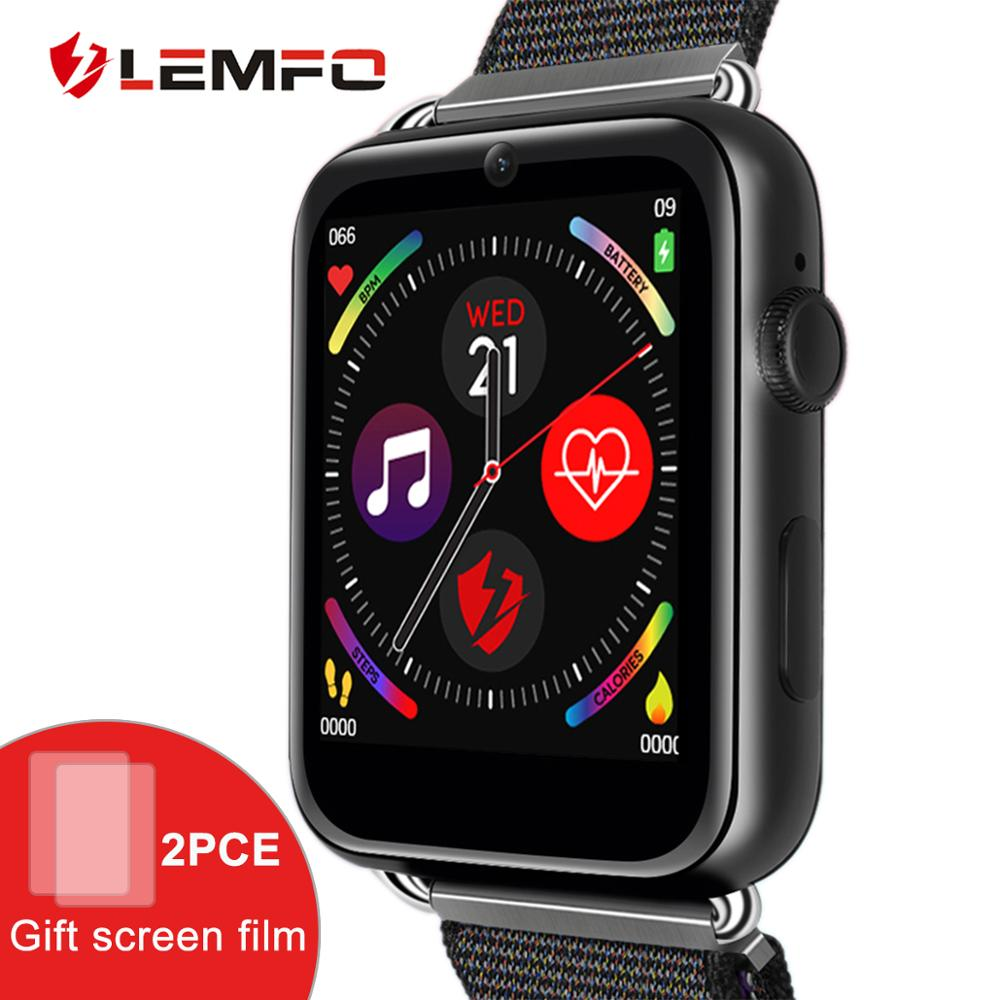 LEMFO LEM10 4G Astuto Della Vigilanza del Android 7.1 3G di RAM 32G ROM 1.88 pollici Grande Schermo LTE 4G Sim di GPS Della Macchina Fotografica WIFI Frequenza Cardiaca Delle Donne Degli Uomini