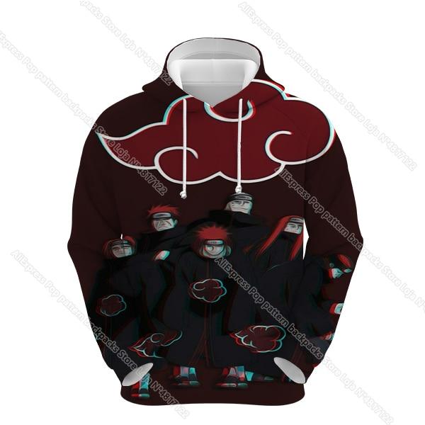 Фото naruto hoodies men women 3d sharingan sweatshirts boy jackets цена
