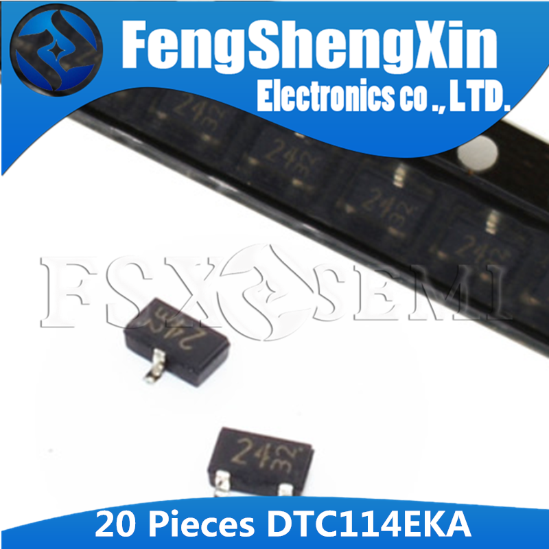 20 шт./лот DTC114EKAF SOT23 DTC114EKA DTC114EK DTC114E DTC114 SOT 23 DTC114EKAF T146 Цифровые транзисторы|Интегральные схемы|   | АлиЭкспресс