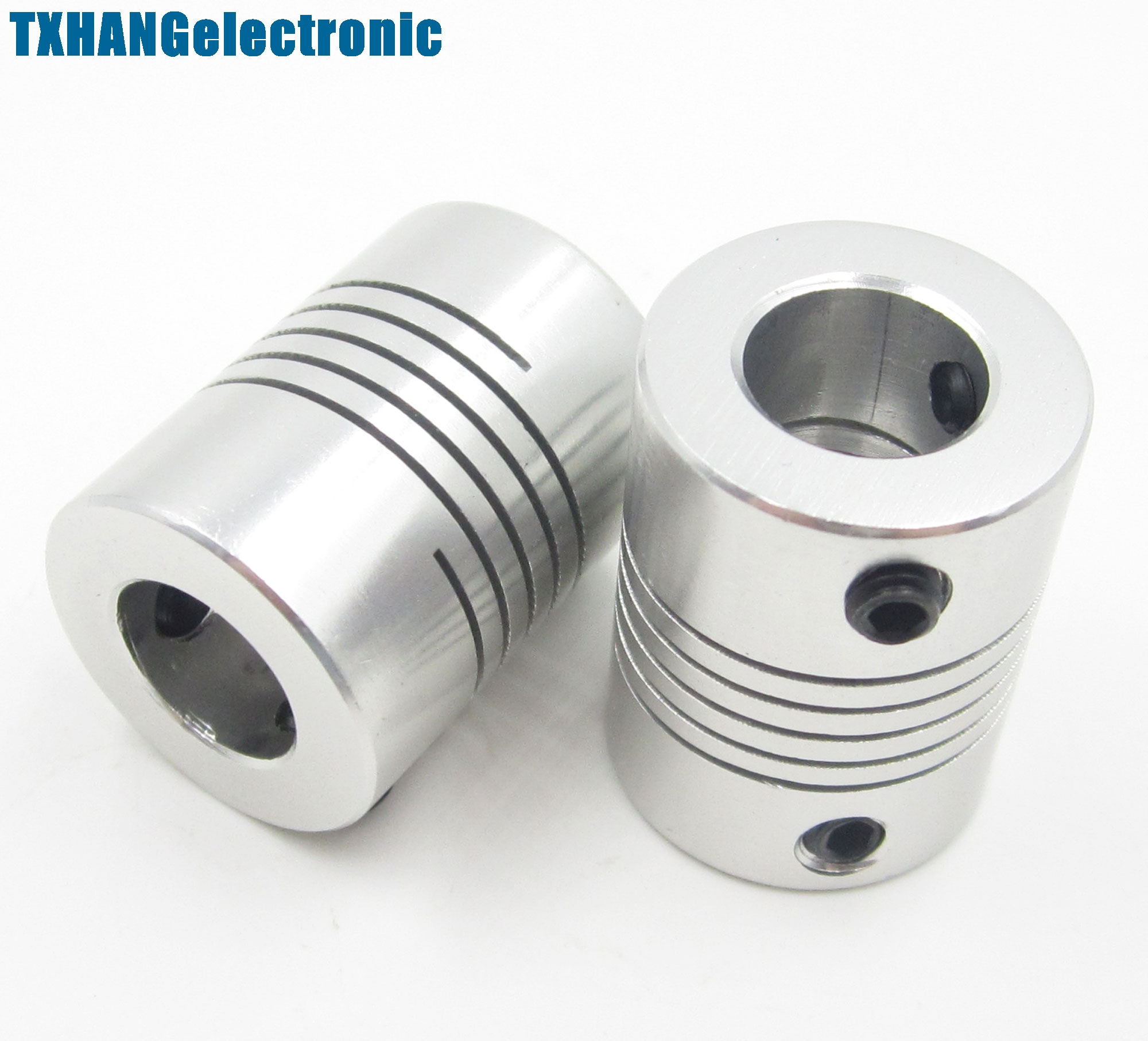 1PCS 5mmx10mm CNC Motor 3D PrinterJaw Shaft Coupler 5mm-10mm Flexible Coupling L