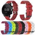 Маленький силиконовый ремешок для часов Ремешок для браслета Замена для SUUNTO 3 фитнес-спортивный красочный браслет SmartWatchs аксессуары