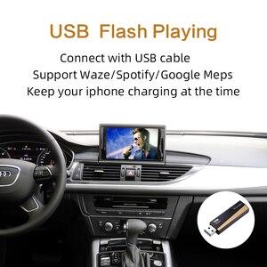 Image 4 - 2020 Wireless Apple CarPlay for Audi A1 A3 A4 A5 A6 A7 A8 Q2 Q3 Q5 Q7 MMI Car Play Android Auto Mirror Reverse Camera