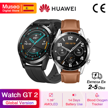 Huawei Watch GT 2 Reloj Inteligente, rastreador de oxígeno en sangre, Bluetooth 5.1, Rastreador de frecuencia cardíaca, 5ATM Impermeable, €10 Code11112020ES10+€10 Seleccionar cupón on 11.11 0900