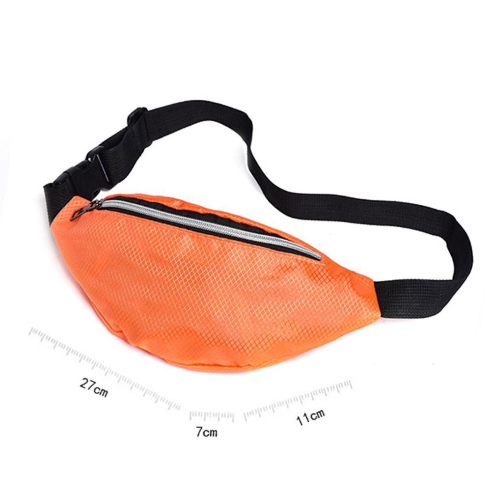Men And Women Diagonal Mini Shoulder Multi-function Mobile Phone Bag Outdoor Sports Bag Waist Bag Chest Bag Mini Shoulder 30N13