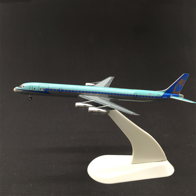 Rare  Special Offer 1:500 DC8  Alloy Aircraft Model  U.S.A  Collection Model  Blister He