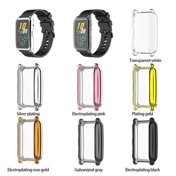 High Quality Electroplated Tpu All-inclusive Protective Cover Antifriction Protection Watch Case Applicable For HONOR ES Watch image
