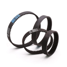 HTD-5M Timing Belt Closed Loop Rubber 380 385 390 395 400 405 410 415 420 425 430mm Length 15mm Width Synchronous Belts Part