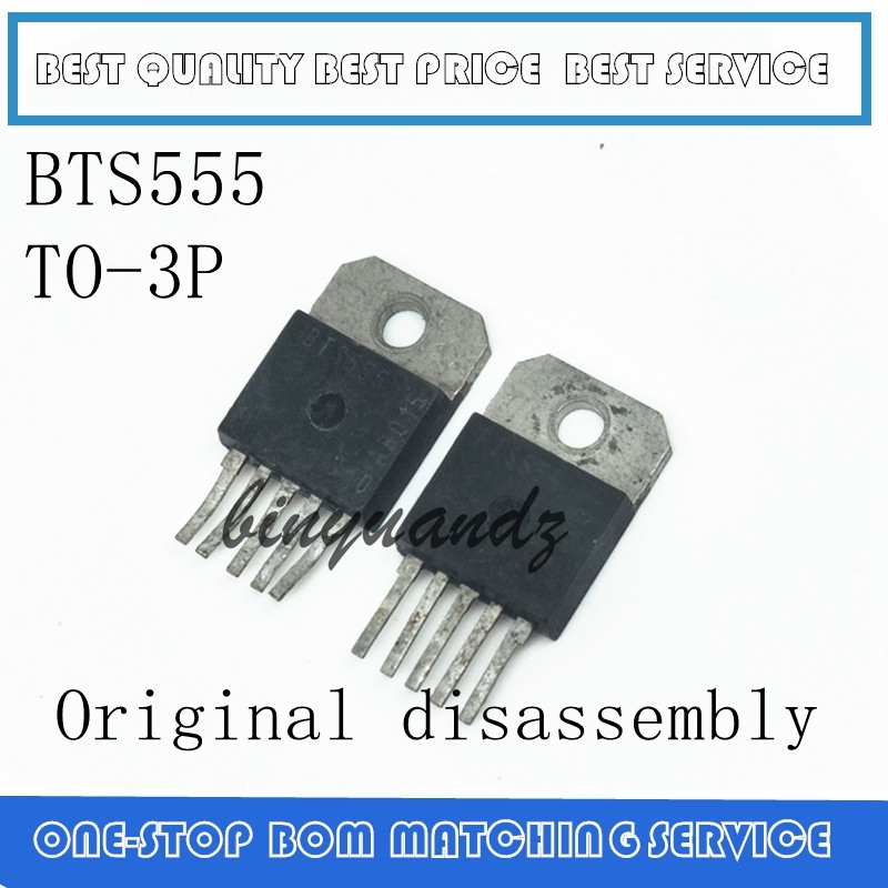 1PCS/LOT BTS555 TO-3P Original Disassembly 100% Good In Stock