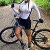 2020 pro equipe triathlon terno feminino preto camisa de ciclismo skinsuit macacão maillot ciclismo ropa ciclismo conjunto rosa gel almofada 12