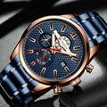 Новые мужские часы CURREN  брендовые модные дизайнерские мужские часы  спортивные водонепроницаемые наручные часы из нержавеющей стали  мужск...