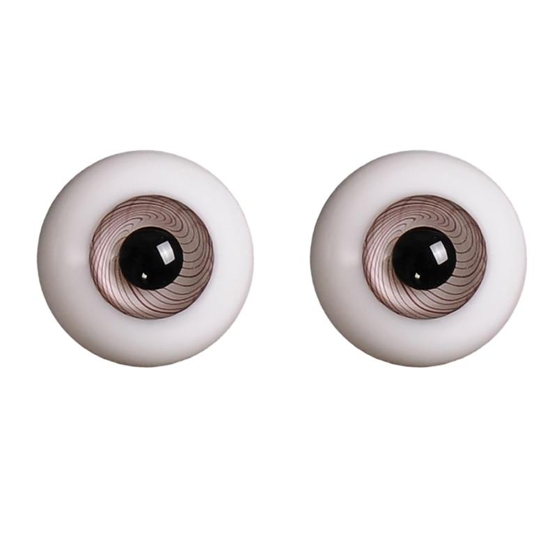14mm 1/3 1/4 Doll Glass Eyes Doll Accessories Glasss Doll Eyeball 24