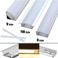 Lighting-Accessories Channel-Holder Led-Bar-Lights Led-Strip 50cm-Lampshade Aluminum