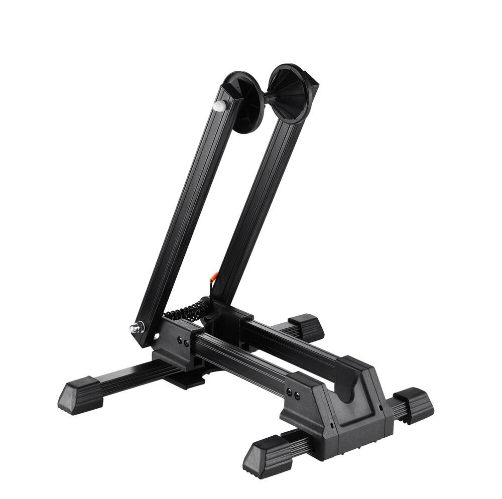 """Bike Stand Adjustable Floor Parking Rack Bicycle Storage Folding Holder 20-29/"""""""