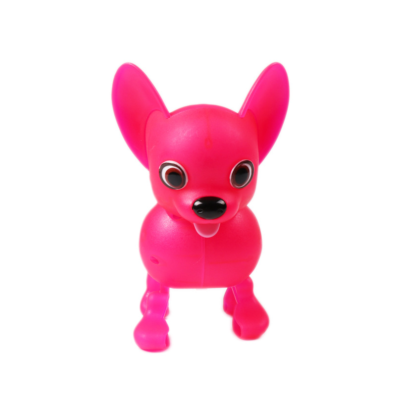 Hot Selling Electric Walk Bark Toy Robot Dog Plastic Pets Walking Forward And Backward Interactive Toys For Children Lovely Gift