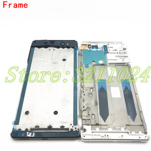 Image 3 - Full Housing Middle Front Frame Bezel Housing For Sony Xperia XA Ultra C6 F3215 F3216 F3212+ Side Rail Stripe with Side Buttons
