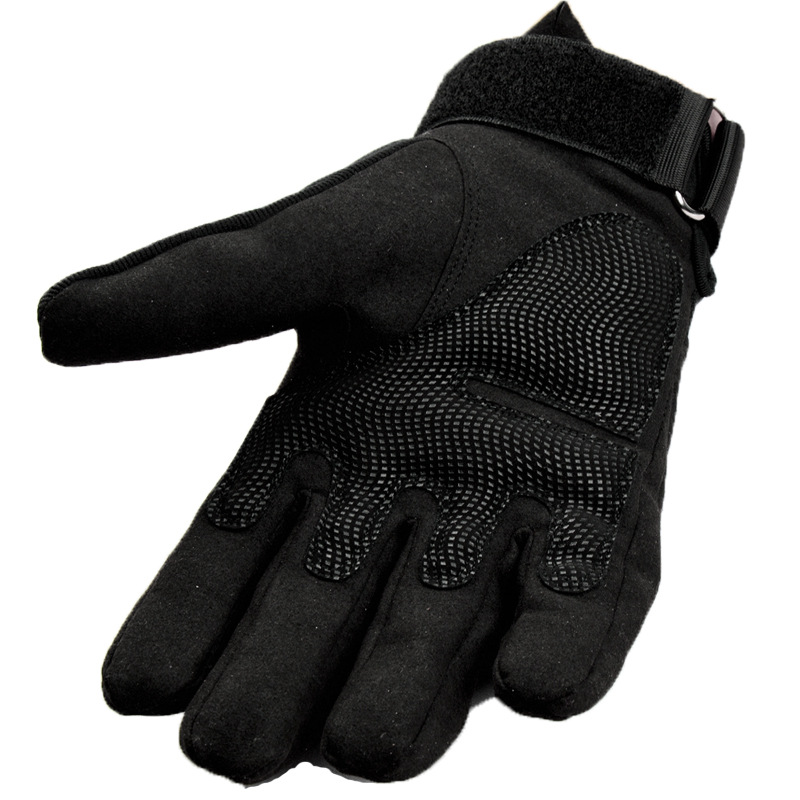 Army Military Tactical Gloves Men Winter Full Finger Hard Knuckle Gloves Paintball Airsoft Shoot Combat Anti-Skid Bicycle Gloves 2