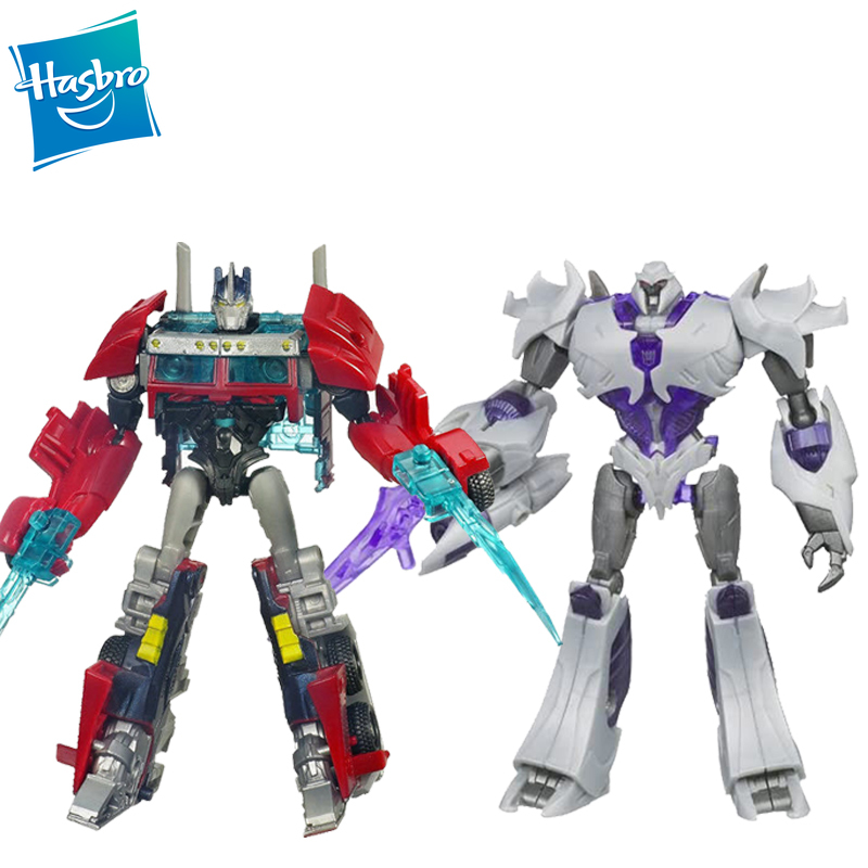 Экшн-фигурки Hasbro Трансформеры Prime Cyberverse Commander Class Series Megatron Optimus Prime перегородка Ironhide Magnus, игрушки