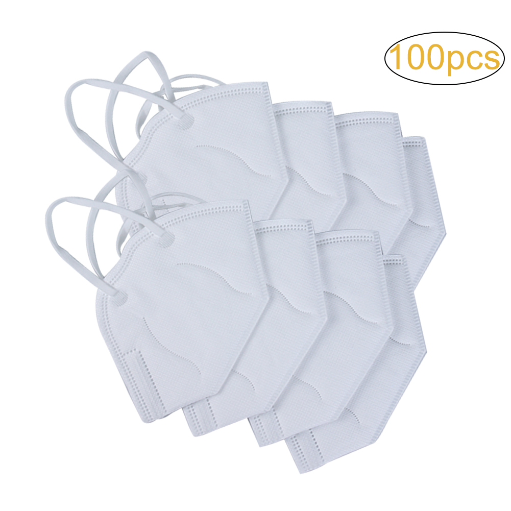 100pcs disposable respirator mask