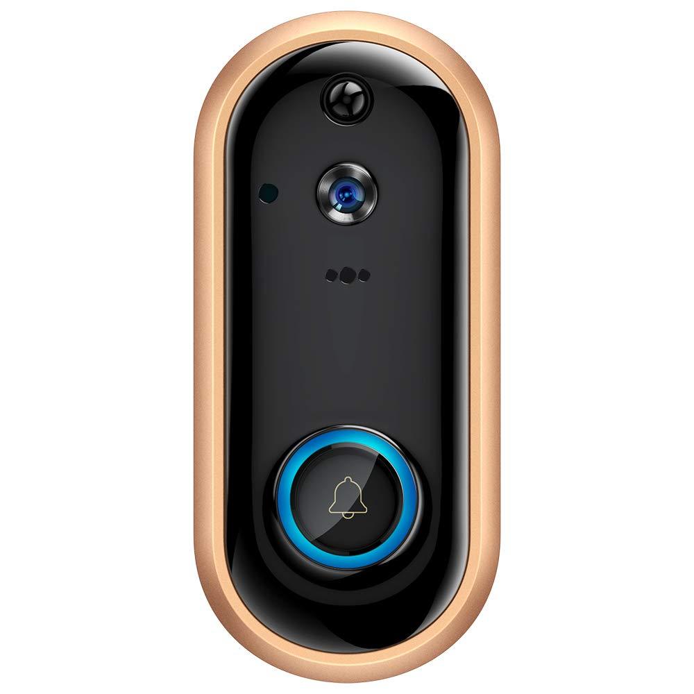 WiFi Video Doorbell 1080P Wireless Door Camera Intercom Rechargeable Battery Camera PIR Security IP Visual Door Phone Camera