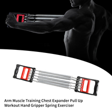 Arm Workout Pull Up Chest Expander Muscle Training Multifunctional Home Office Gym Spring Exerciser Detachable Fitness Equipment