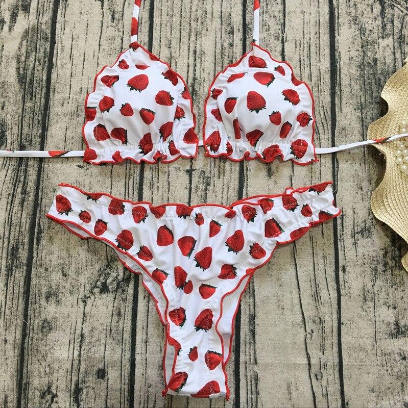 H7a3294f4cce940d59baa77ed106bb17dW Floral print bikinis 2018 new swimwear women swimsuit beach bathing suit maillot de bain femme biquini sexy brazilian bikini set