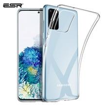 ESR-funda Ultra transparente de TPU para Samsung Galaxy S21, S20 Plus, A8, A71, A40, A51, S8, S10, e, Note 9, Note 10, S10 Lite