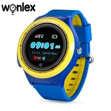 Wonlex KT06 Smart Watches GPS Tracker Round With Vibration Kids Waterproof Watches 2G Phone Watch Location Alarm Wearable Device