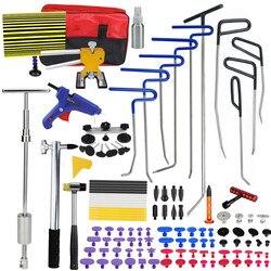 Narzędzia pdr haki wiosna stalowe popychacze Dent Removal naprawa wgnieceń zestaw do naprawy nadwozia Paintless narzędzie do naprawiania wgnieceń zestaw narzędzi ręcznych
