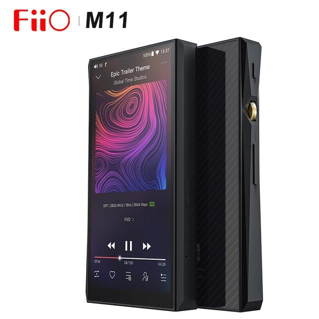 Fiio M11ハイファイオーディオandroidベースのbluetoothロスレスポータブル音楽プレーヤーMP3 usb dac wifi/エアプレイ/live365 aptx hd/ldac dsd