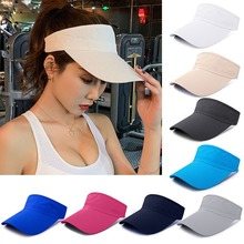 Summer Men Women Sport Cap Empty Top Headband Classic Sun Visor Hat Cap Sports Running Quick-drying Hats Summer Caps