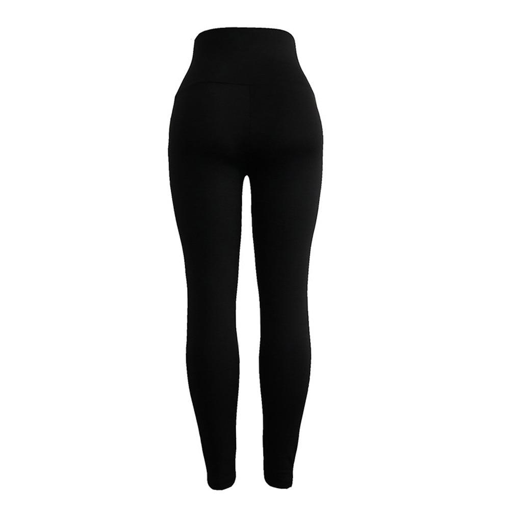 Fashion Push Up Leggings Women Workout Slim Polyester High  Jeggings Pencil Pants 9.4