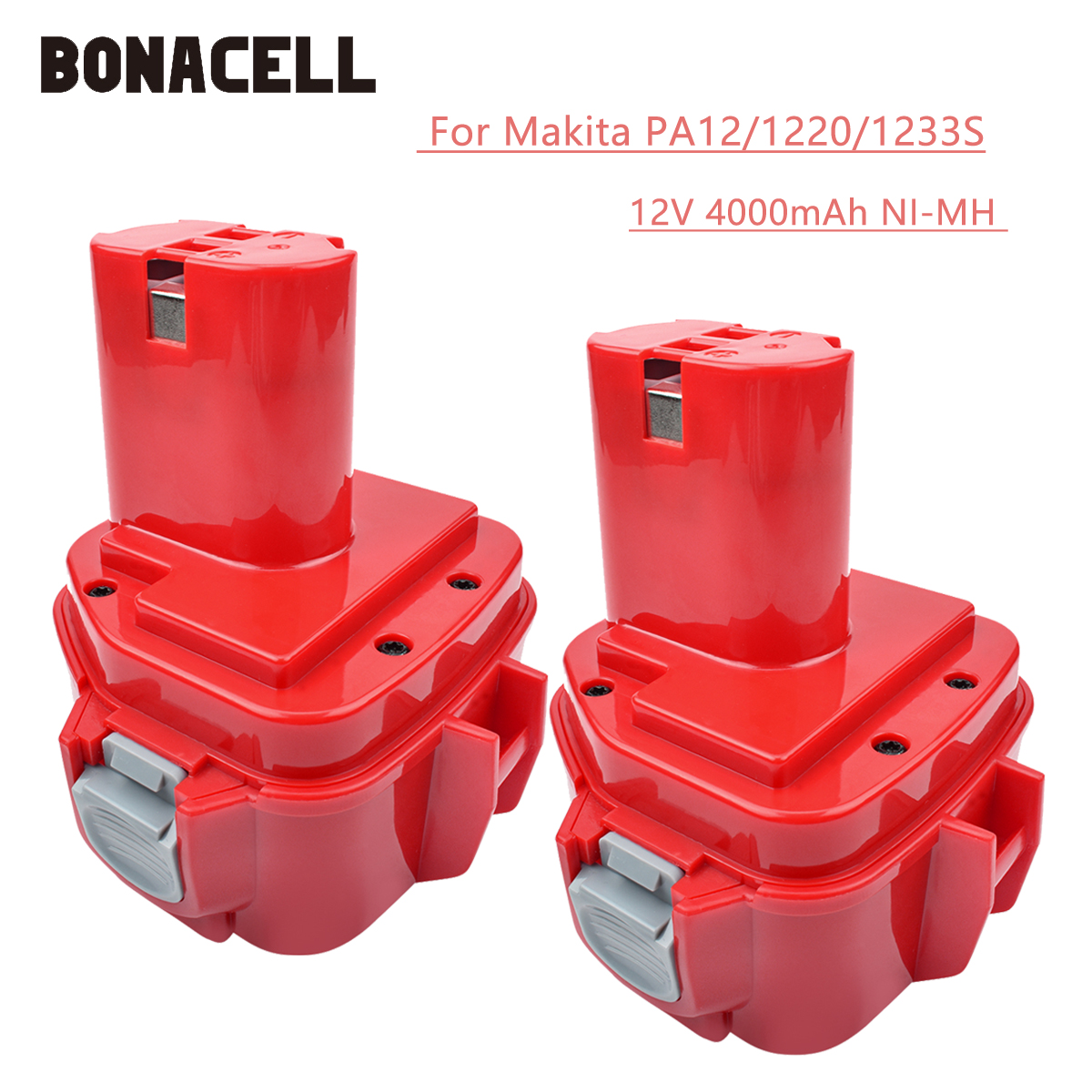 Bonacell 12v 2000mAh NI MH Replacement Battery for Makita 1220 PA12 1222 1233S 1233SA 1233SB 1235 1235A 1235B 192598 2 L30 in Replacement Batteries from Consumer Electronics