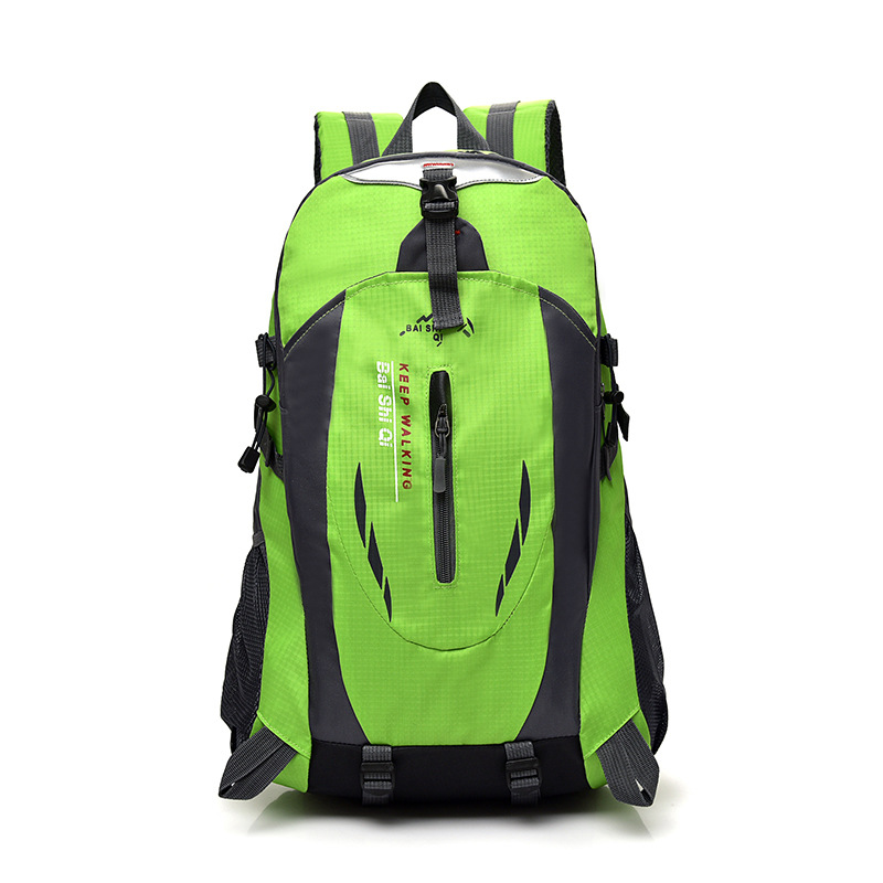 Rainproof Simple Outdoor Mountaineering Bag,non-slip Men and Women Backpack Sports Bag Leisure Travel Backpack Sports Bag