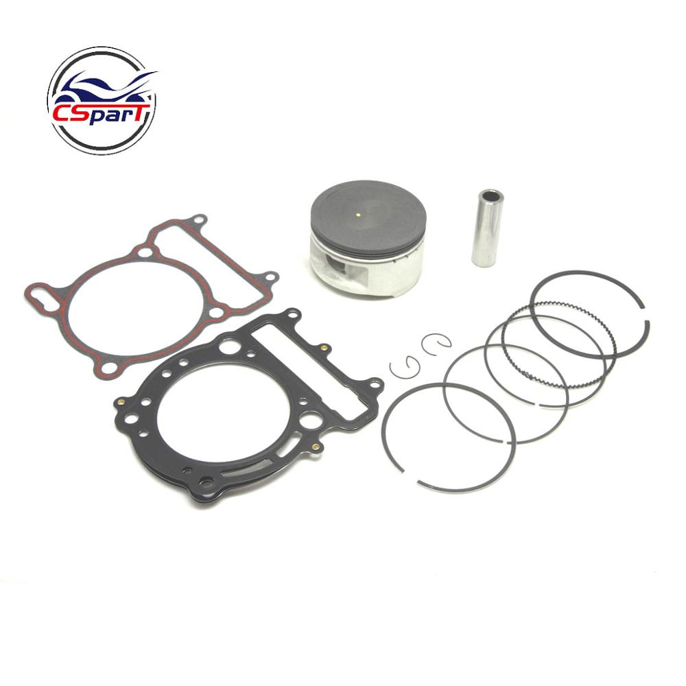 80MM 18MM Piston Ring Gasket Kit VOG LINHAI YP  400 400CC Tank Touring  ATV Buggy Scooter Parts