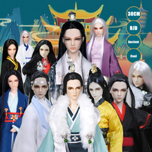 30CM 1/6 BJD Doll 20 Ball Joints Dolls With Full Outfits Clothes Set Wig Makeup Handmade Ancient Man Christmas Birthday Gifts