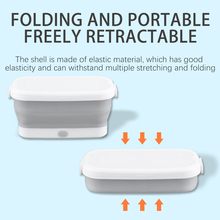 UV Light Nail Tool Sterilizer Box Portable Multifunction Foldable Dry Heat Manicure Disinfection for Underwear Towel Clothing