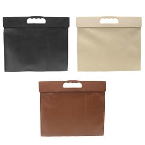 Image 5 - Car Trash Can Garbage Bag Hanging Seat Behind Row Storage Bag Interior Supplies