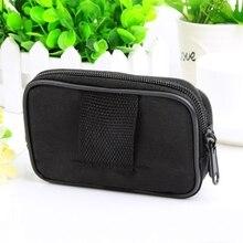 Universal Smart Phone Sport Case Zipper Waist Bag Cover Card Pocket For Men