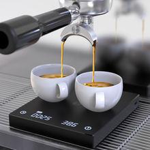 Черные Зеркальные весы timemore для кофе умные цифровые электронные