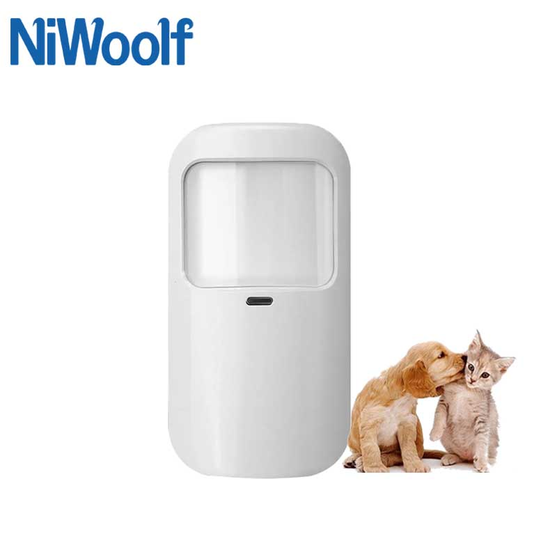 433MHz Wireless Infrared Detector Below 10kg  PET Immune Wireless 1527 Code For Our Wifi / GSM / PSTN Home Security Alarm