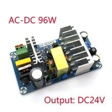 For Power Supply Module DC 24V 4A 6A To AC 110v 220v Switching Power Supply Module AC-DC Board 96W