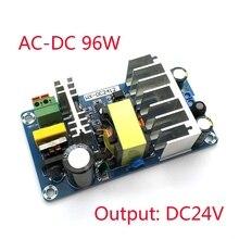 Módulo de fuente de alimentación CC 24V 4A 6A a CA 110v 220v módulo del interruptor de la fuente de alimentación Placa de AC DC 96W